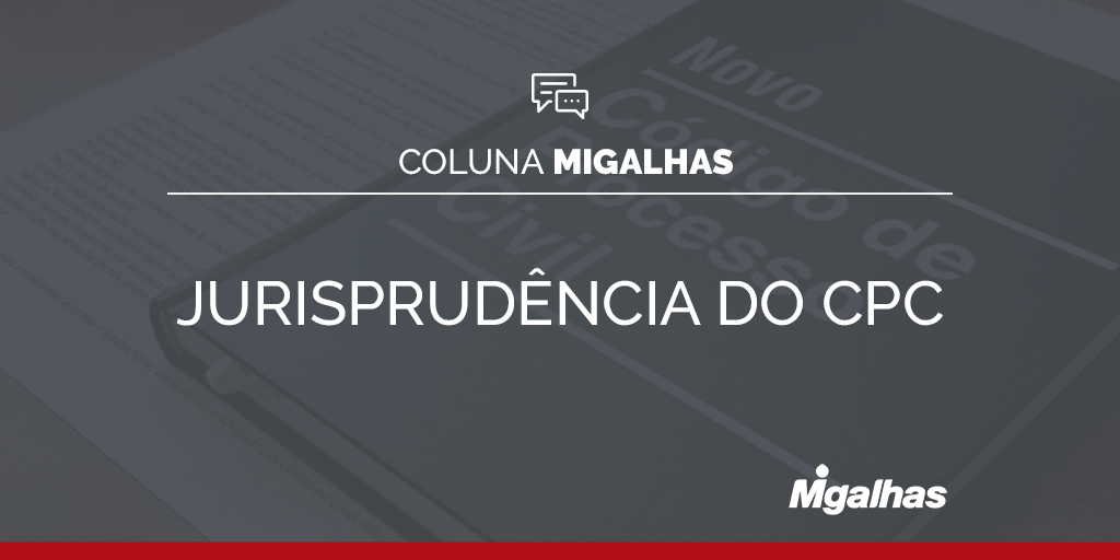 Jurisprudência do CPC